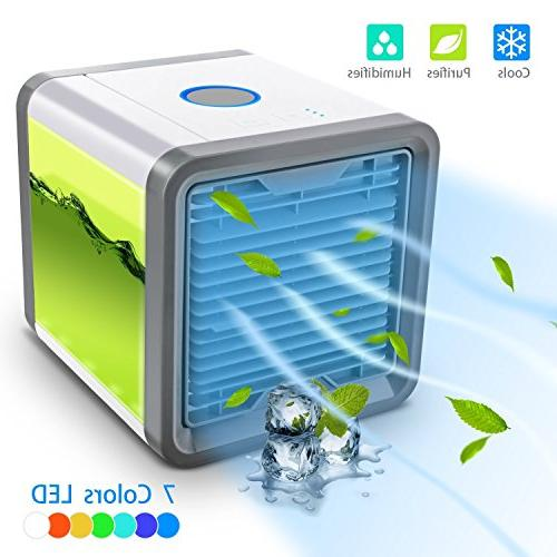 CAYNEL Personal Air Mini USB Air Desktop Cooling Fan 3 and Colors for Office Household