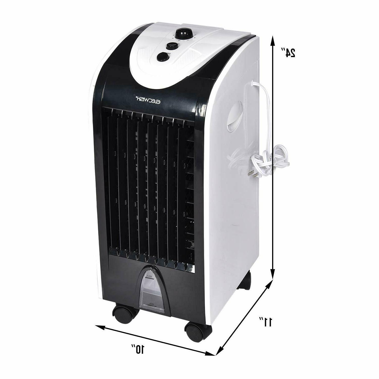 Portable Cooler Fan Humidifier Filter Bedroom
