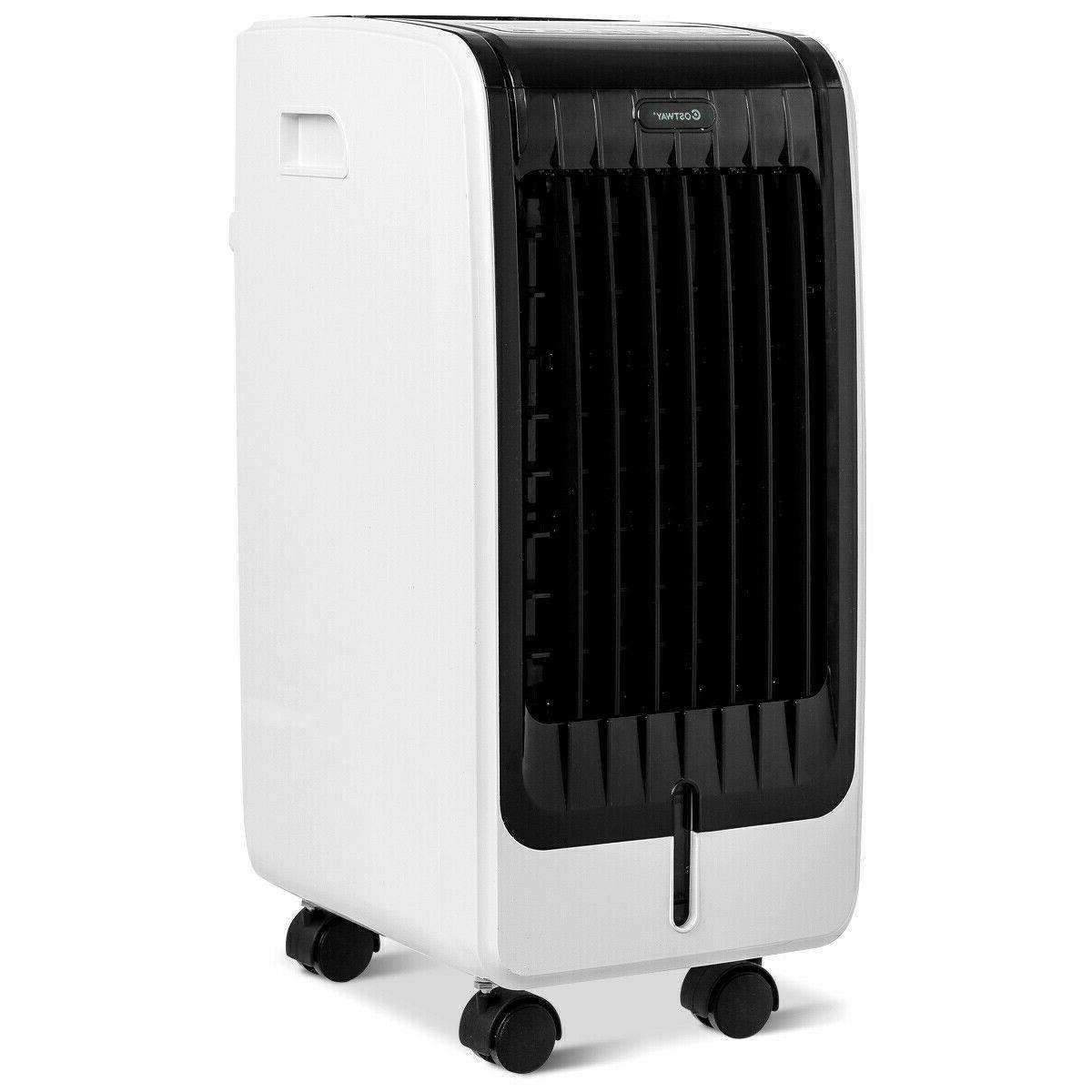 Portable Conditioner Cooler Unit Remote Control Room
