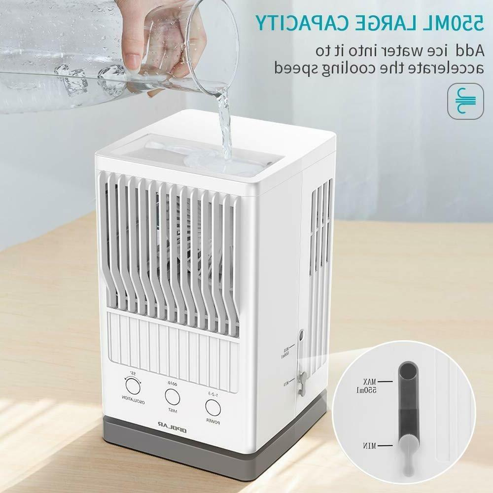 OPOLAR Portable Air Fan Evaporative Air USB Power
