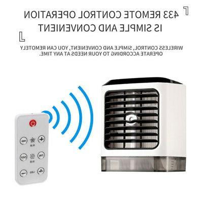 HOT!Portable Evaporative Fan Indoor Cooling Humidifier+Remote Control