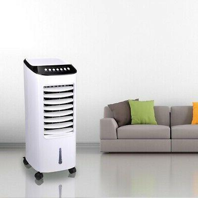 Portable Air Fan Indoor Cooling Humidifier Remote Control