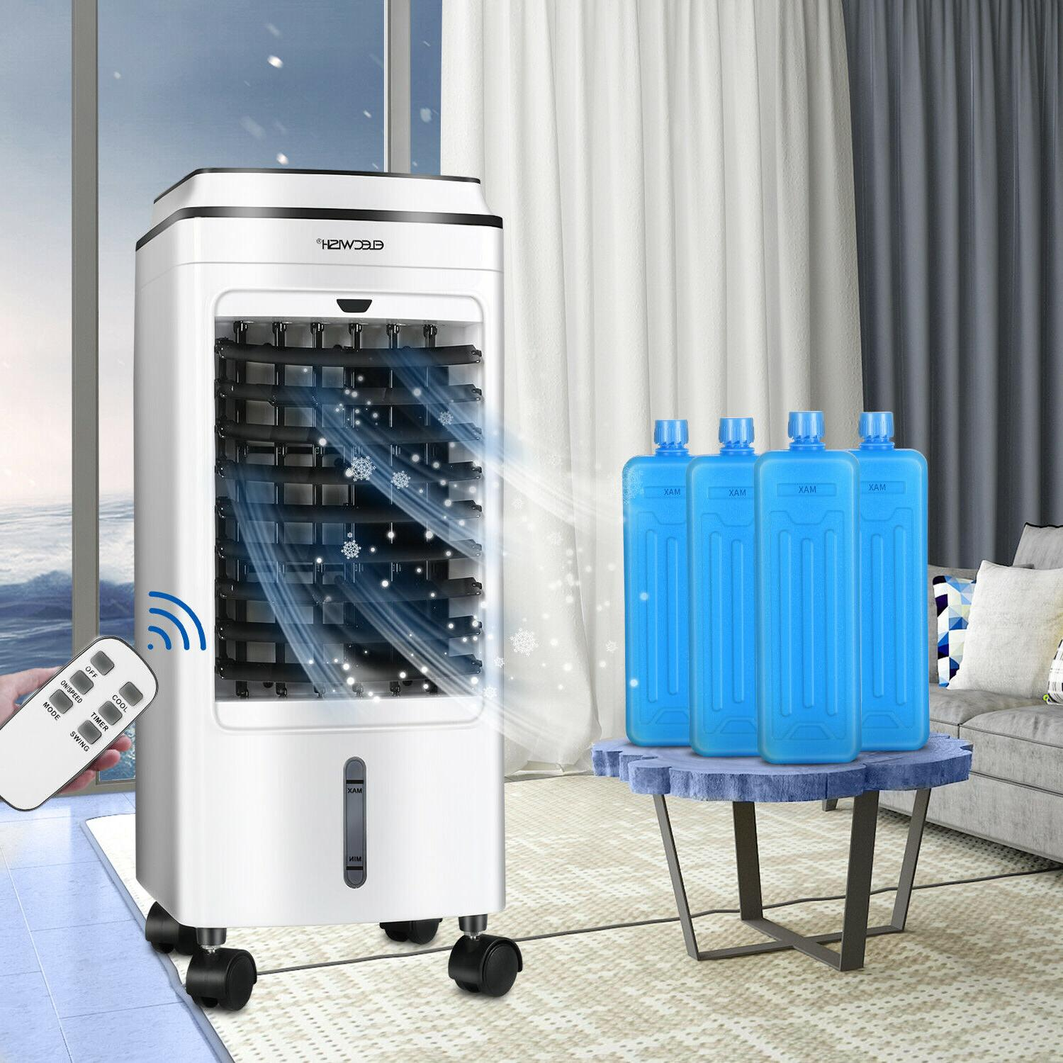 Portable Air Air Conditioner Cooler Evaporative Water Humidifier