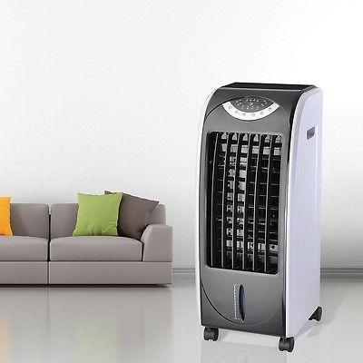 Portable Fan Cooling Humidifier w/ Control