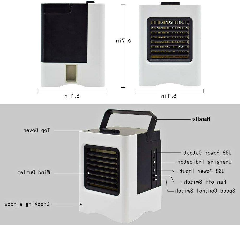 PORTABLE AIR COOLER FAN OFFICE SMALL
