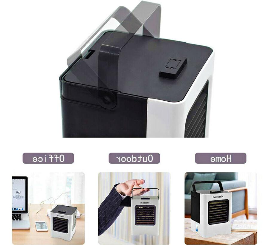 PORTABLE AIR COOLER FAN ELECTRIC HOME OFFICE SMALL AIR