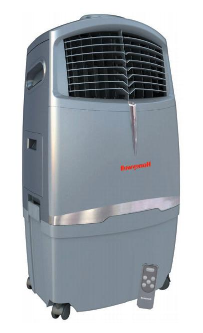 portable evaporative air cooler indoor home office