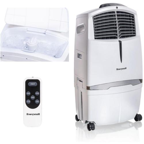 Portable Evaporative Air Cooler Remote Control 320 Sq Ft 525