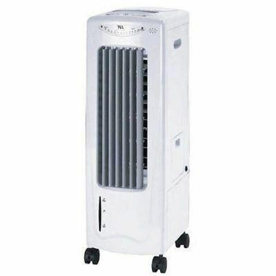 portable evaporative air cooler with ionizer indoor