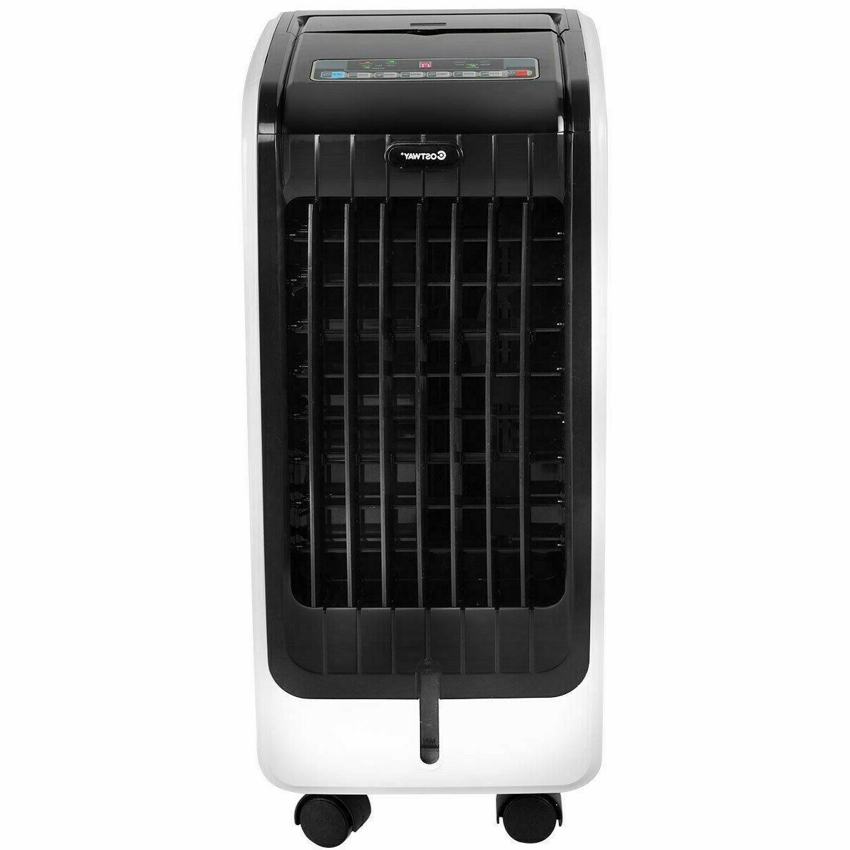 portable evaporative air humidifier cooler fan cooling