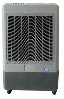 Hessaire Products MC61M Mobile Evaporative Cooler, 5,300 Gray