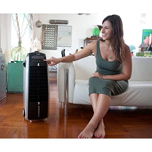 Quilo Indoor Tower Fan with Cooler Humidifier