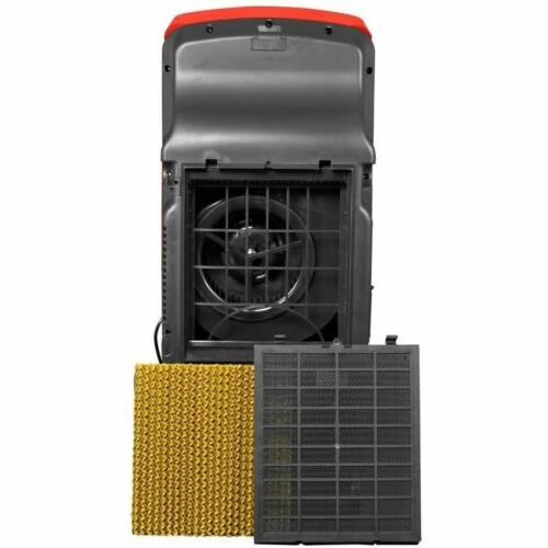 Red Evaporative Cooler w/ Portable