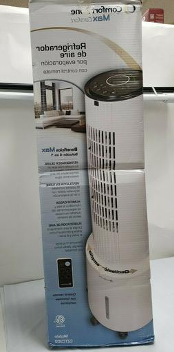 NEW COMFORT ZONE Max Comfort Evaporative Air Cooler With Rem