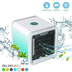 Personal Air Cooler Fan, Portable Air Conditioner, Humidifie