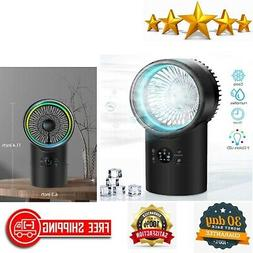 Portable Air Conditioner Fan Mini Evaporative Cooler Night L