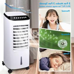 Portable Evaporative Air Cooler Fan Humidifier with Remote C