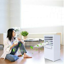 Portable Evaporative Air Cooler Fan Room Cooling Humidifier