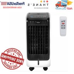 Portable Evaporative Fan Cooling Humidifier Remote Air Condi