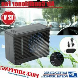Portable Evaporative Mini 12V Air Conditioner Home Car Water