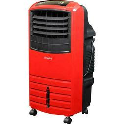 Red Evaporative Air Cooler w/ Built-In Purifier Filter, Port