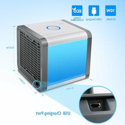 US Portable Mini Air Conditioner Cooler Cooling AC Fan Humid