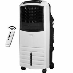 White Evaporative Swamp Cooler, Portable Air Humidifier Puri